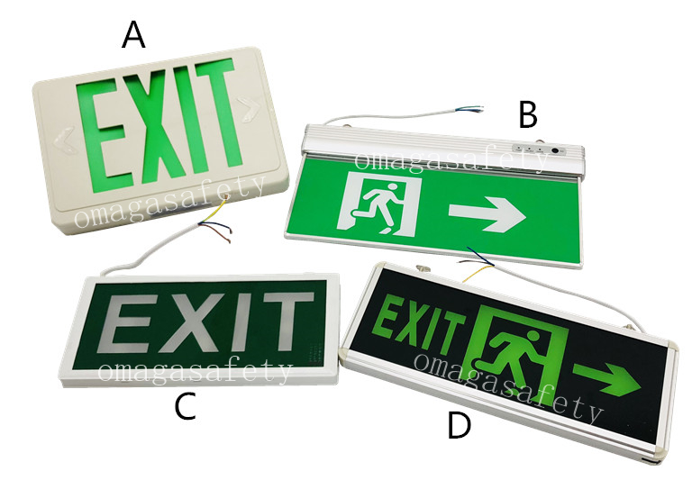 EXIT SIGN CODE: RS-38