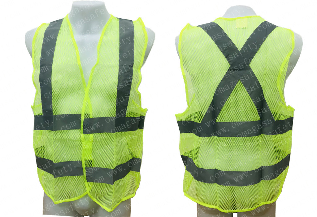 PANDA NET GRAY REFLECTOR VEST CODE: AS-11A